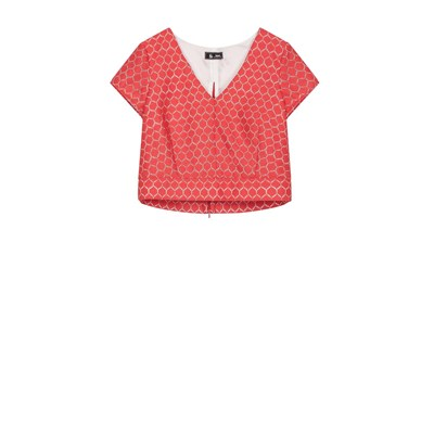 Adonis - Cropped Top - rouge