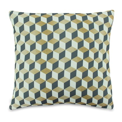 Gold & Chic - Coussin - tricolore