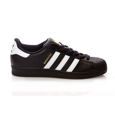 Adidas Originals superstar - baskets en cuir - noir