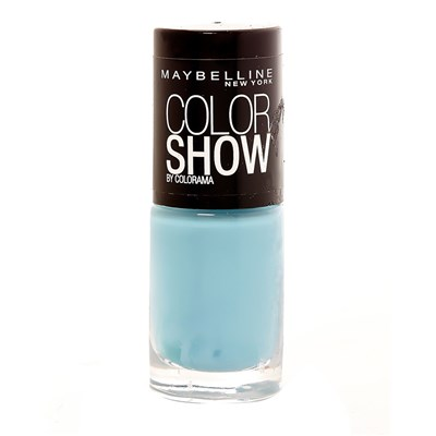 Gemey Maybelline 651 cool blue - vernis à ongles color show - bleu ciel