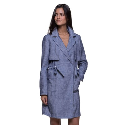 Trench And coat trench - bleu