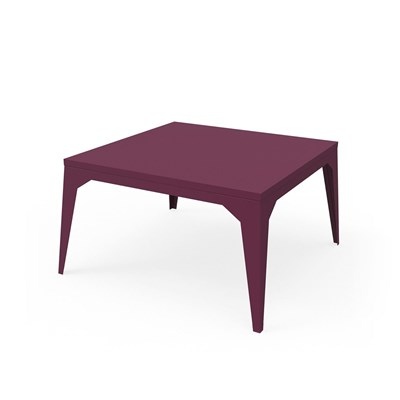 Zhed Cuatro - table basse - aubergine