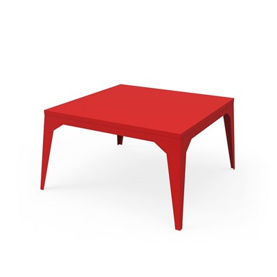Zhed Cuatro - table basse - rouge