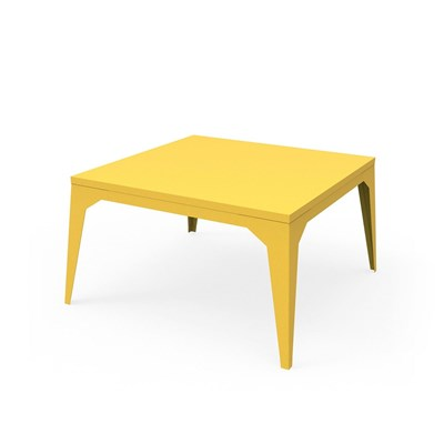 Zhed Cuatro - table basse - jaune