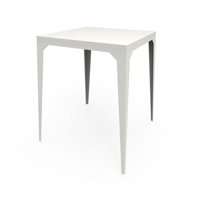 Zhed Cuatro - table haute - blanc