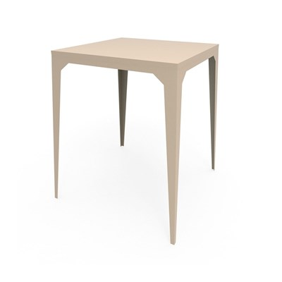 Zhed Cuatro - table haute - beige