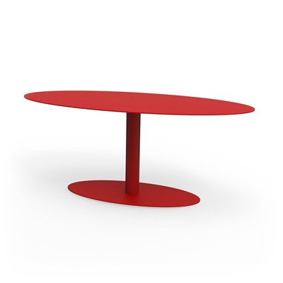 Metropolitain - Table d'appoint - rouge