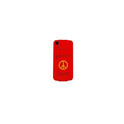 Etui compatible iPhone 5 - rouge