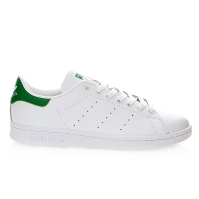 Stan Smith unisexe - Baskets en cuir mélangé - blanc