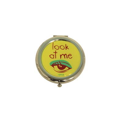 Look at me - Miroir de poche - jaune
