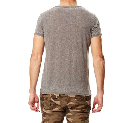 T-shirt Burnout - gris