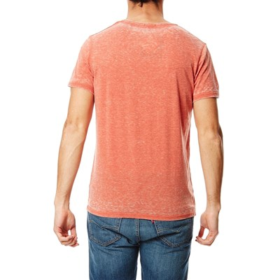 T-shirt Burnout - orange