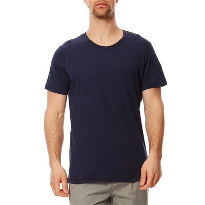 Top/tee-shirt - bleu marine
