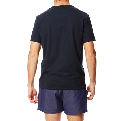 Ensemble pyjama -  T-shirt + short - bleu