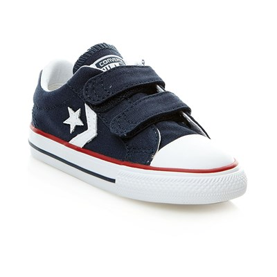 STAR PLAYER 3V OX NAVY/WHT - Baskets montantes - bleu marine
