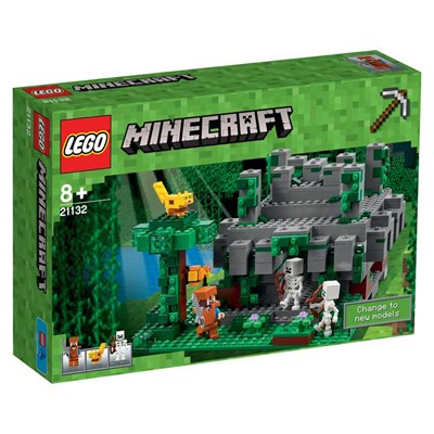 Le temple de la jungle Minecraft - multicolore