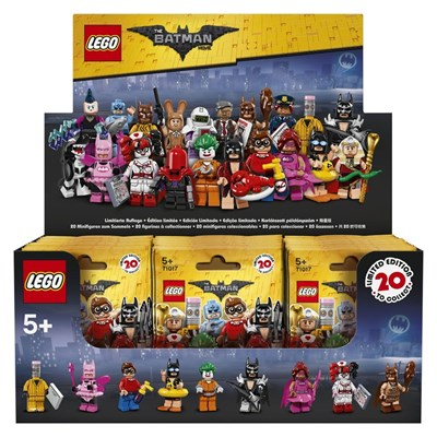 Lego Présentoir de 60 mini figures batman movie - multicolore
