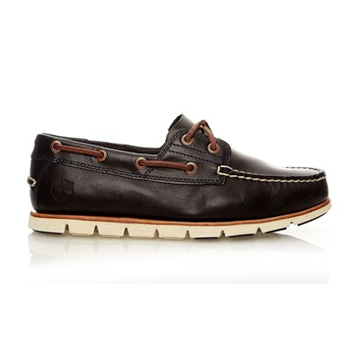 TIDELANDS 2 EYE DARK INDIGO Boat Shoe - Baskets montantes - bleu brut