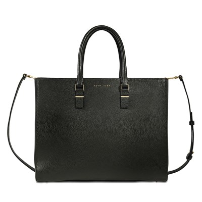 Staple Business - Sac cabas en cuir - noir