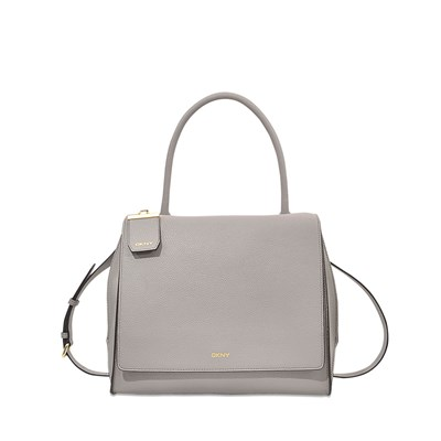 Handle - Sac cabas en cuir - gris