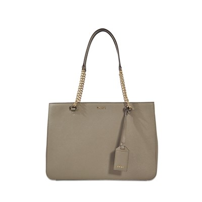 Bryant - Sac shopping en cuir - marron