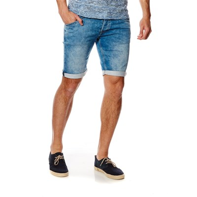 Track - Short - denim bleu