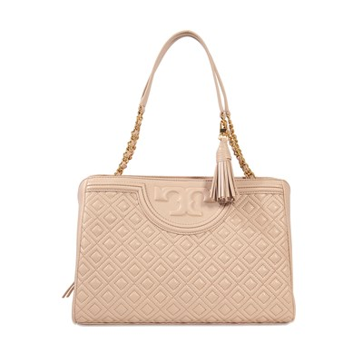 Fleming - Sac cabas en cuir - rose