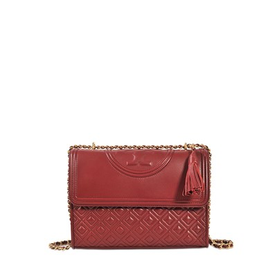 Fleming - Pochette en cuir - rouge