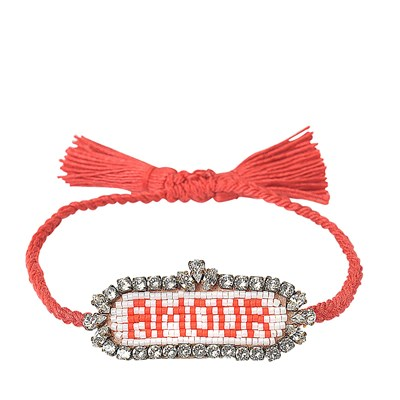 Amour - Bracelet cordon - multicolore