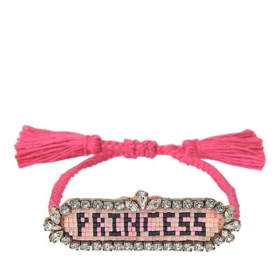Princess - Bracelet cordon - multicolore