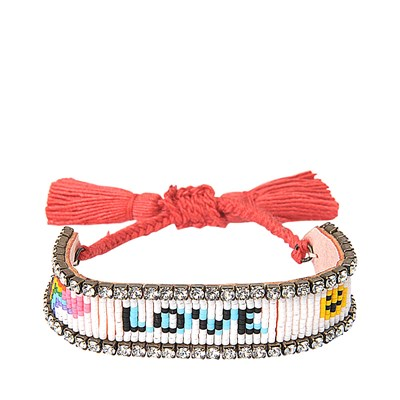 Love Rainbow - Bracelet cordon - multicolore