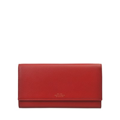 Panama Marshall Travel - Portefeuille en cuir - rouge