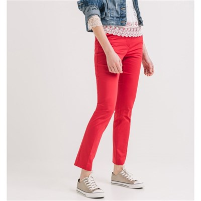 Pantalon coupe cigarette - rose