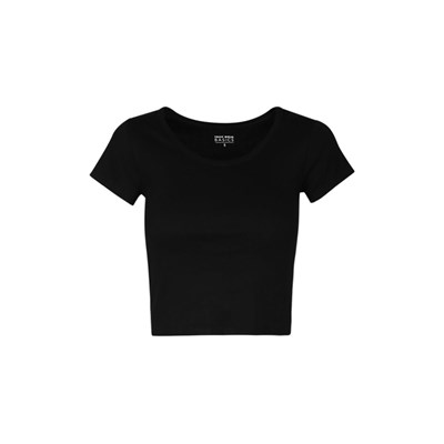 Crop Top - noir
