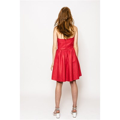 SINÉQUANONE Olympe - Robe bustier - rouge