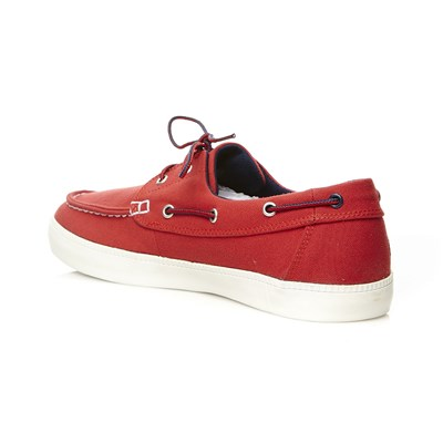 Chaussures bateau - rouge