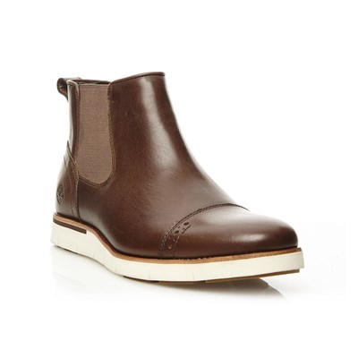 Preston Hill - Boots en cuir - marron