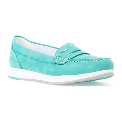 Avery - Mocassins en cuir - turquoise