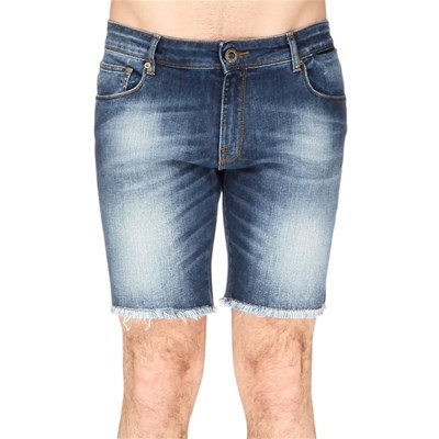 Florent - Short - denim bleu