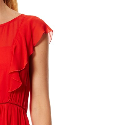 PENNYBLACK Robe droite - rouge