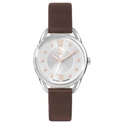 Guess Collection montre en cuir - marron