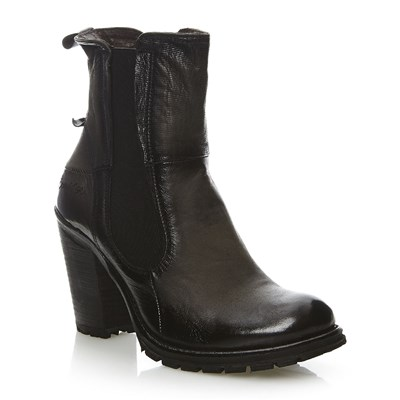 Pace - Bottines en cuir - noir