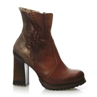 Hala - Bottines en cuir - tabac