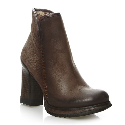 Hala - Bottines en cuir - marron