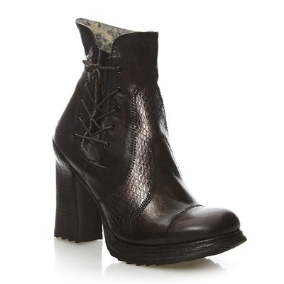 Rose - Bottines en cuir - marron