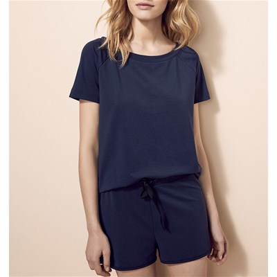 Air Loungewear 253 - Pyjama Short - bleu marine