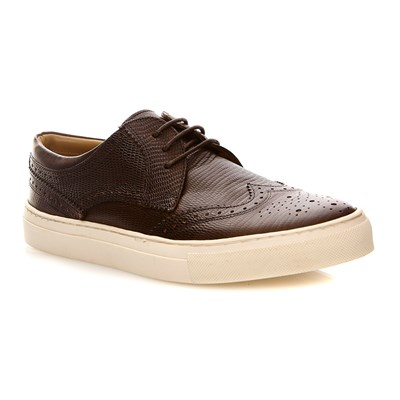 Base London costello snake brown - baskets - brun