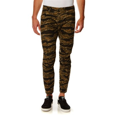 3D Tapered - Pantalon cargo - kaki
