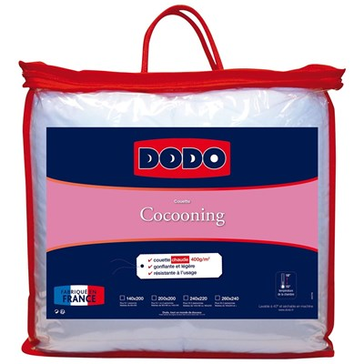 Dodo Cocooning - couette chaude - blanc