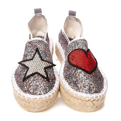 Colors Argento Espadrillas California Colors Of Of TWOwHPqq